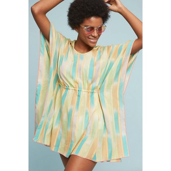 Anthropologie Other - ANTHROPOLOGIE Lilka Pastel Rainbow Swim Cover Up